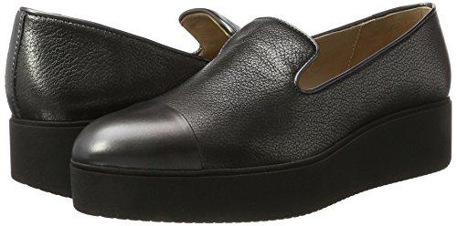 Noir Mocassins Cabed loafers black Femme cmt Unisa S8qBHn