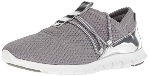 (Cole Haan Women's Zerogrand Sneaker, Ironstone Quilted Stretch, 8 B US)