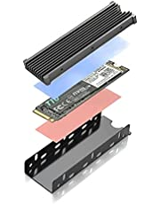 JEYI Design WARSHIP Pro M.2 2280 SSD Heatsink Pre-Assembled for Sony PlayStation 5 PS5 Expansion Slot