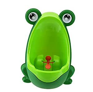 Orinal, Lomire Orinal infantil de rana para niños/bebé de Color Verde