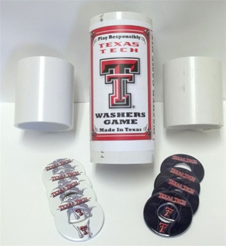 Texas Tech Red Raiders Pitching Washers  - Perfect Pitch Washers Shopping Results
