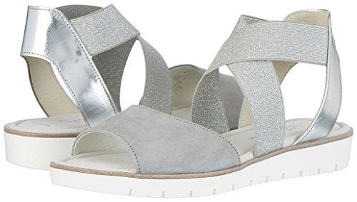 Zeppa Fashion Con silber Donna grau Sandali Gabor 19 Grigio fTtFpqnw