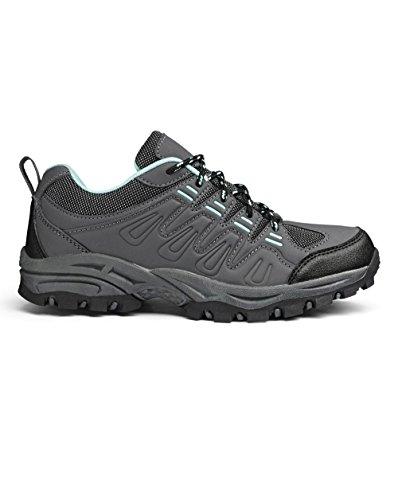 Simply Be Womens Capsule Active Walking Shoe Aqua/Grey