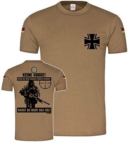 Copytec BW 21498 - Camiseta de manga corta, diseño del ejército alemán con texto en alemán: Amazon.es: Ropa y accesorios