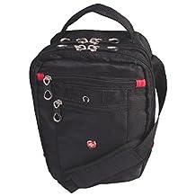 """Swissgear 11"""" Vertical Boarding Bag (SWT0362R) - Black_11 in"""