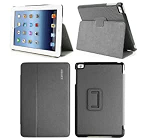 KHOMO ® Black Case for new Apple iPad Mini 7 Inch (Built-in magnet for sleep / wake feature)