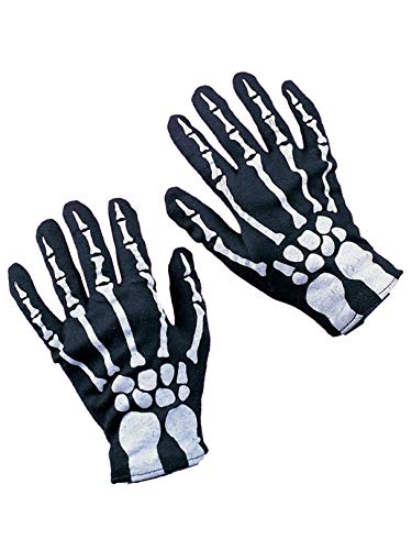 Rubie's Costume Co Child Skeleton Gloves Costume -