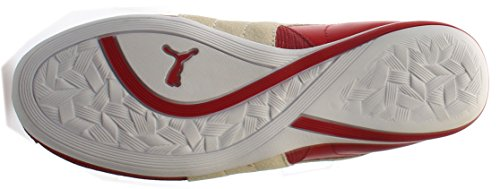 PUMA Womens Eskiva Low Top Slip On Leather Running Sneaker
