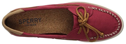 Sperry Medium o Venice 7 Canvas Women's Us Shoe A Top Boat Red sider wrXxIqXP