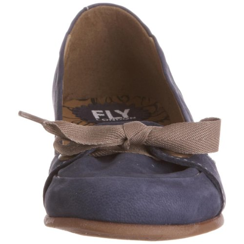 Blue Women's London Flat Deep Fum Fly Mule wZpxHYvwq5
