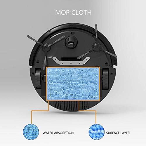 Balayeuse Robot Machine à récurer Automatique Ménage Un Aspirateur Intelligent Ultra-Mince Mini, Blanc