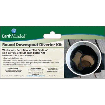 EarthMinded F-RN053 Round Diverter Kit WLM