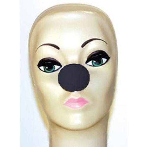 (Goshman Black Foam Clown Noses (1)