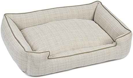 Jax and Bones 24 x 18 x 7 Standard Wool Blend Lounge Dog Bed, Small, Odessa Mist