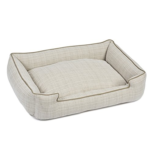 Jax and Bones 24 x 18 x 7″ Standard Wool Blend Lounge Dog Bed, Small, Odessa Mist