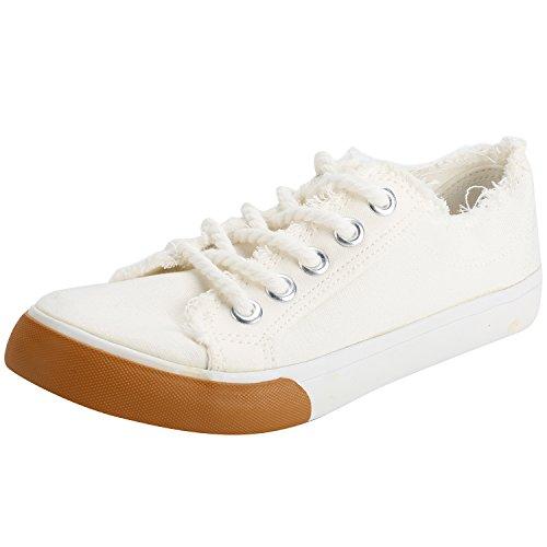 Toile Basses Kentti Baskets en Femme Sneakers nHCECr0