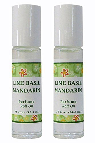 Parfum Free Ship - Lime Basil Mandarin Perfume Roll On - Set of 2 (THIS ITEM SHIPS FREE ! PROMOTION APPLIED DURING CHECK OUT)