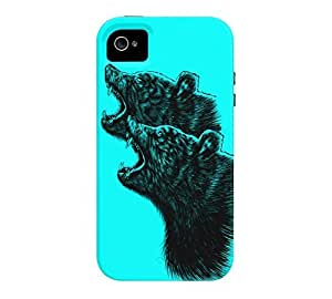 2BEAR iPhone 4/4s Aqua Tough Phone Case - Design By Humans