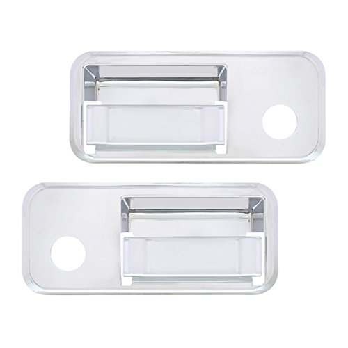 United Pacific 41618 Chrome Plastic Volvo Exterior Door Handle Cover (Set of 2) ()