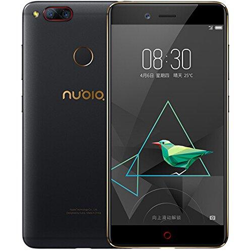 Nubia Z17 Mini 5.2 inch 4GB+64GB Storage Gorilla Glass FHD Screen 2.5D Nubia UI 4.0 (Android 6.0) 4G LTE Smartphone (Black)