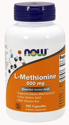 - NOW Foods L-Methionine 500 mg 100 Caps