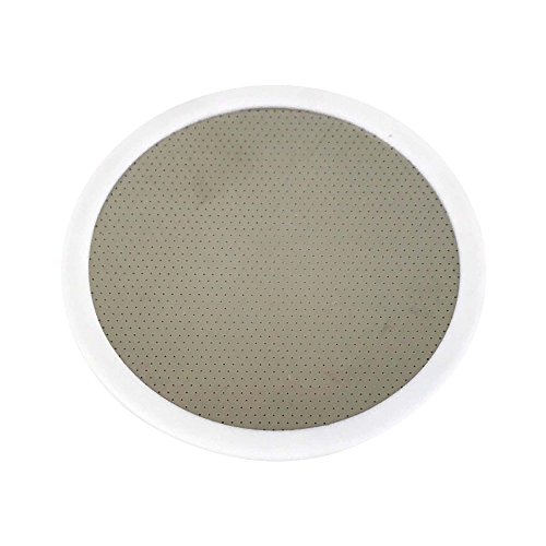 Think Crucial Reusable Deluxe Stainless Steel and Rubber Disk Filter Fits All Toddy(R) Cold Brew System Makers by Think Crucial
