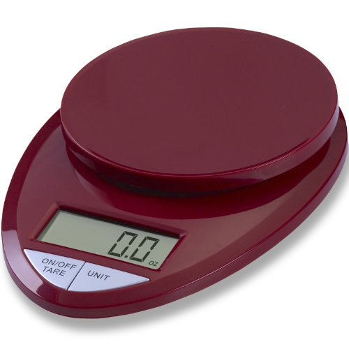 Eatsmart precision pro digital kitchen scale red import for Perfect kitchen pro scale