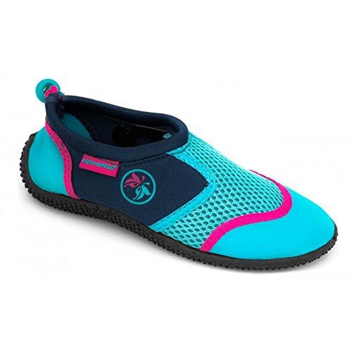 Aqua 14 Kayak Piscine Unisexe Chaussures Türkis porte Aqua speed Plongée Up® clés C6rxCSfq