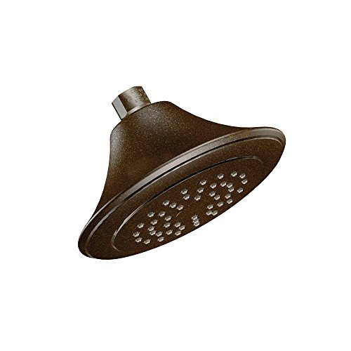 Moen S6335ORB Rothbury 6-1/2 Single-Function Showerhead with 2.5 GPM Flow Rate, Oil Rubbed Bronze by Moen
