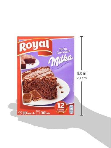 Royal - Tarta de chocolate Milka, 3 x Paquete de 2 sobres: Amazon.es: Alimentación y bebidas