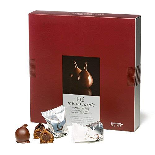 La higuera Rabitos Truffle Stuffed Fig Bon Bons, 16-Count Unit (Figs Chocolate)