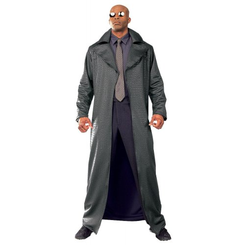 Deluxe Morpheus Adult Costume - (Morpheus Matrix Costume)
