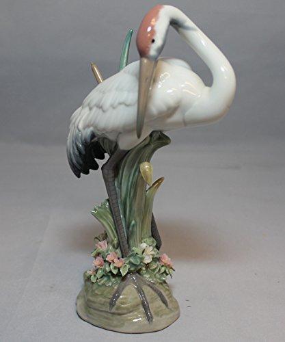 Lladro Preening Crane Figurine, 1612