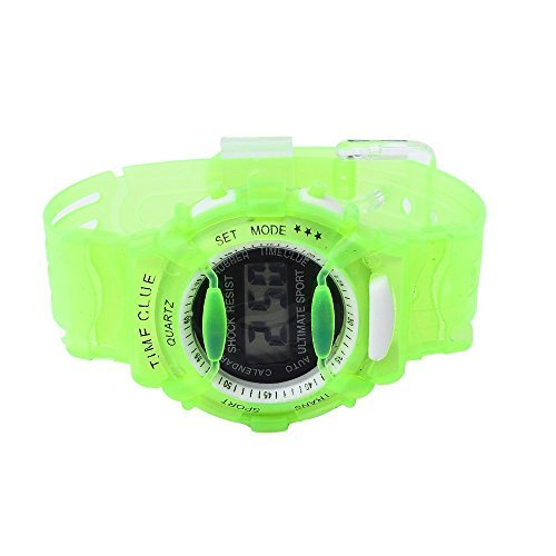 SMTSMT Students Waterproof Digital Wrist Sport Watch - Green by SMTSMT (Image #2)