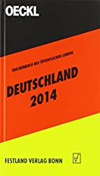 OECKL. Taschenbuch des Öffentlichen Lebens Deutschland 2014: 63. Jahrgang