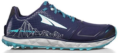 Altra AFW1953G Women's Superior 4 Trail Running Shoe, Dark Blue - 6 B (M) US