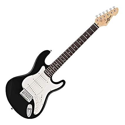 Guitarra Eléctrica LA 3/4 de Gear4music - Negro