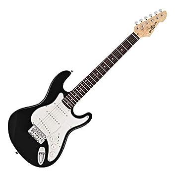 Guitarra Eléctrica LA 3/4 de Gear4music - Negro: Amazon.es: Instrumentos musicales