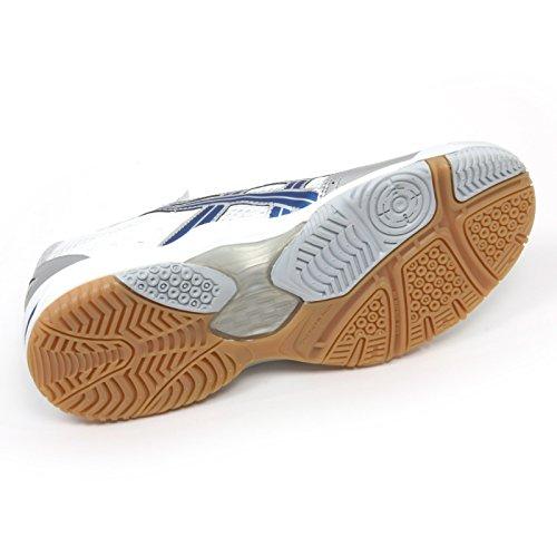 Man Gel Sneaker Bianco argento Bianco Flare 2 Uomo blu B9914 Scarpa Asics blu Shoe t5wqPP