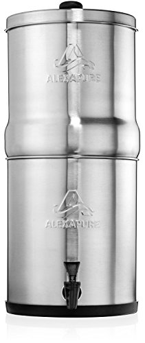 Alexapure Pro Stainless Steel Water Filtration System - 5,000 Gallon Throughput Capacity by Alexapure (Image #2)
