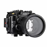 PULUZ 40m Underwater Depth Diving Case Waterproof Camera Housing for Canon EOS-5D Mark III (EF 24-105mm f/4L is II USM)