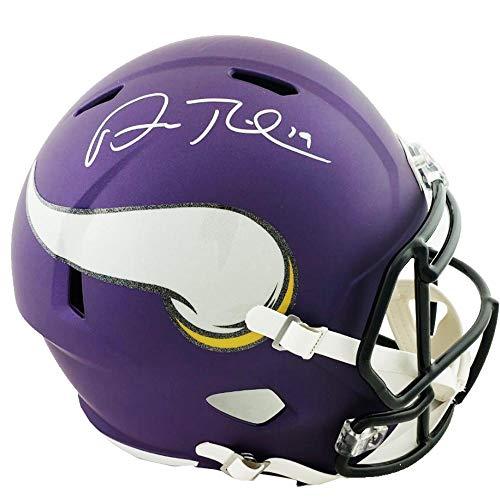 (Authentic Adam Thielen Autographed Signed Full Size Replica Minnesota Vikings Speed Matte Helmet (TSE COA))
