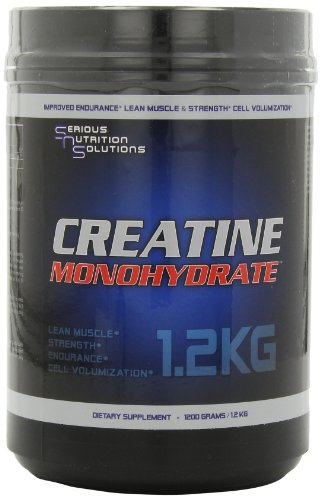Serious Nutrition Solution Creatine Monohydrate Powder, 1200 Grams by Serious Nutrition Solution