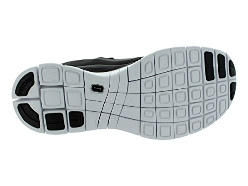 Nike Heren Gratis 5.0+ Ademen Loopt Zwart / Metallic Donkergrijs / Wit Synthetische Shoe - 7 D (m) Ons
