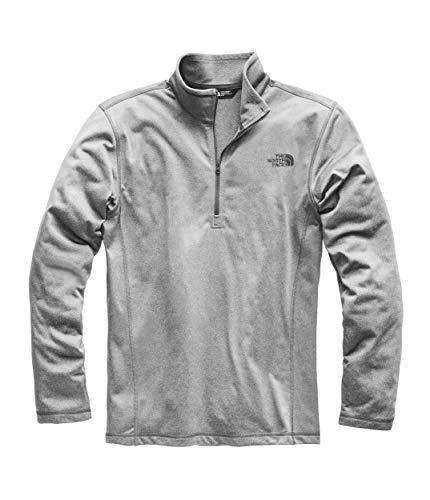 The North Face Men's Tech Glacier ¼ Zip, TNF Medium Grey Heather, Size XL