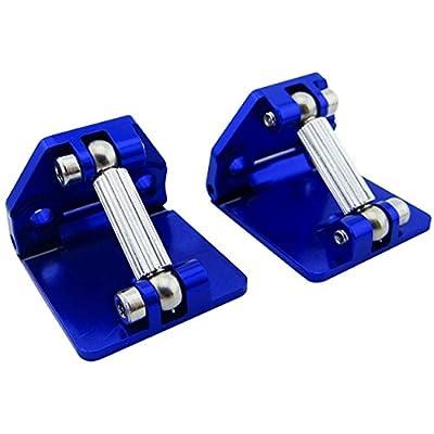 Hot Racing DCB311AR06 Aluminum Adjustable Trim Tabs (2) - Tra M41: Toys & Games