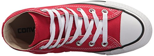 Adulto Converse Taylor Chuck Core Red Unisex Star Hi All Zapatillas Altas Rojo aazwqxr