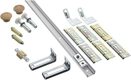 Stanley National Hardware S402-044 BF30-00-48 Bifold Retail Set in White Coated (Closet Door Hinges Bifold)