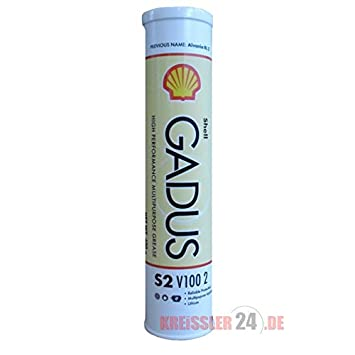 SHELL GADUS S2 V100 2 HIGH PERFORMANCE HEAVY DUTY GREASE 400GM 550028036