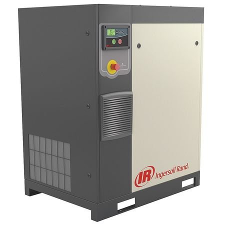 Ingersoll-Rand - R7.5I-A125/80-230-3 - 3-Phase 10 HP Rotary Screw Air Compressor with 80 gal. Tank Size -